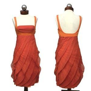 Catherine MALANDRINO $2030 black label silk dress